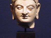 stucco head Buddha